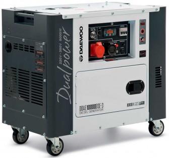 Дизельний генератор Daewoo DDAE 10000DSE-3 (дворежимний)
