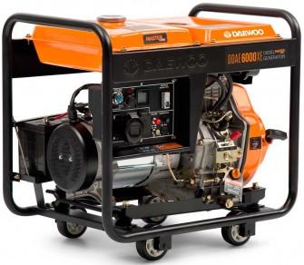 Дизельний генератор Daewoo DDAE 6000XE