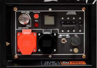 Дизельний електрогенератор Daewoo DDAE 9000DXE-3 (дворежимний)