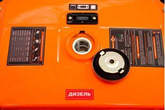 Дизельний електрогенератор Daewoo DDAE 9000DXE-3 (дворежимний 380/220 В)