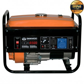 Бензиновий електрогенератор Daewoo GDA 6500