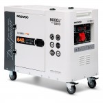 Генератор дизельний Daewoo DDAE 11000DSE-3 (дворежимний)