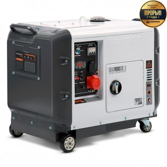 Дизельний електрогенератор Daewoo DDAE 9000SSE-3 (трифазний)