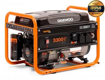 Бензиновий електрогенератор Daewoo GDA 3800DFE