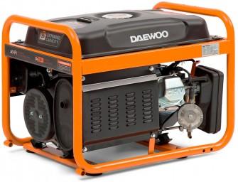 Газовий електрогенератор Daewoo GDA 3500DFE