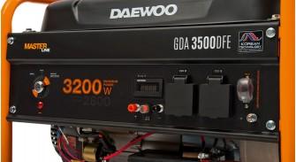 Двопаливний електрогенератор Daewoo GDA 3500DFE
