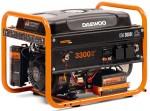 Бензиновий генератор Daewoo GDA 3800E