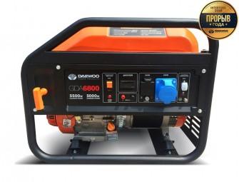 Бензиновий електрогенератор Daewoo GDA 6800