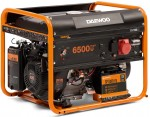 Бензиновий генератор Daewoo GDA 7500E-3 (трифазний)