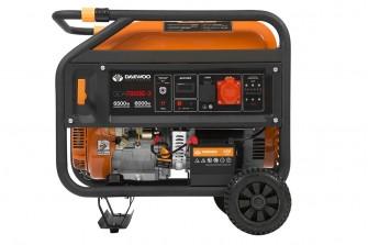 Бензиновий електрогенератор Daewoo GDA 7800E-3 (трифазний)