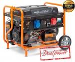 Генератор бензиновий Daewoo GDA 8500DPE-3 (дворежимний)