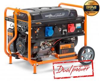 Бензиновий електрогенератор Daewoo GDA 8500DPE-3 (дворежимний)