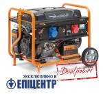 Бензиновий генератор Daewoo GDA 8500DPE-3