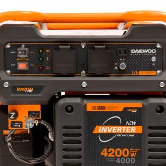 Інверторний електрогенератор Daewoo GDA 5600i