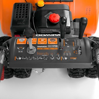 Бензиновий снігоприбирач Daewoo DAST 17110