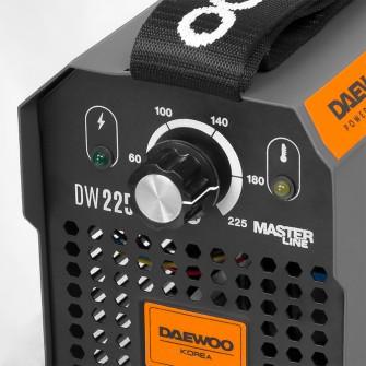Зварювальний інверторний апарат Daewoo DW 225