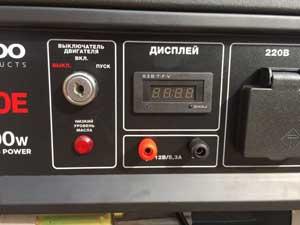 Пристрій відображення параметрів роботи електростанції для будинку