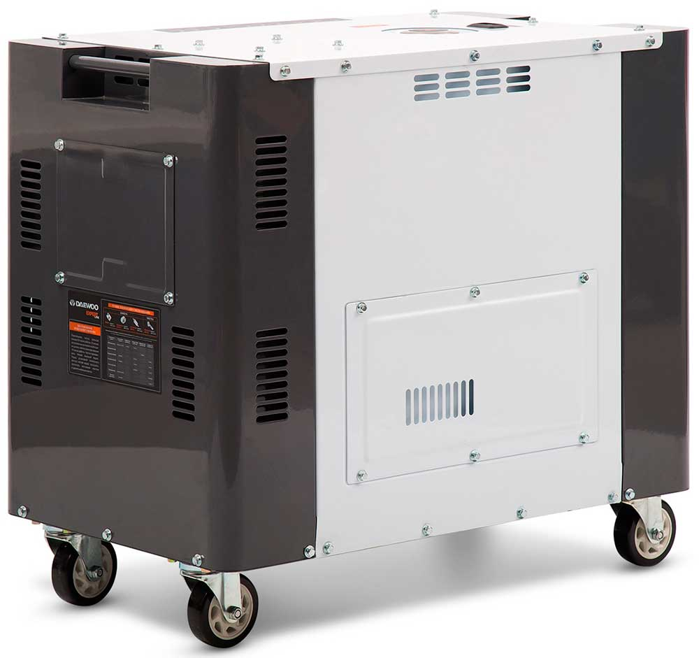 Дизельний електрогенератор Daewoo DDAE 10000DSE-3 (дворежимний)