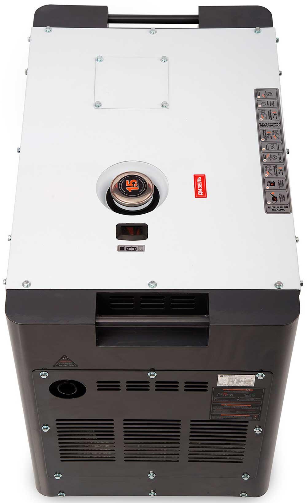Дизельний електрогенератор Daewoo DDAE 10000SE