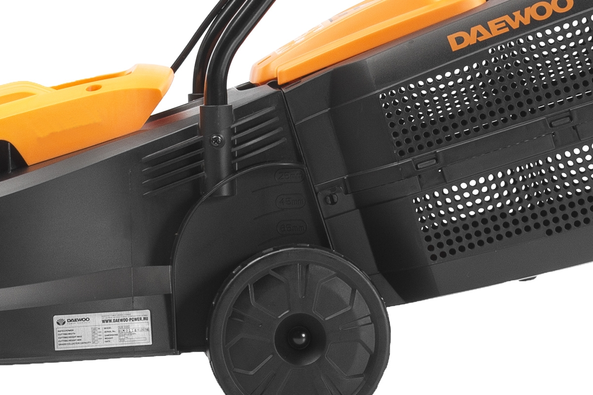 Електрична газонокосарка Daewoo DLM 1100E