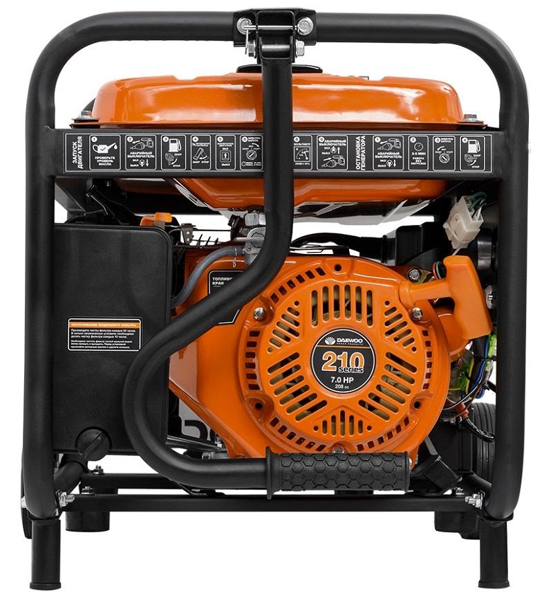 Бензиновый генератор daewoo gda 3500 купить бензиновый