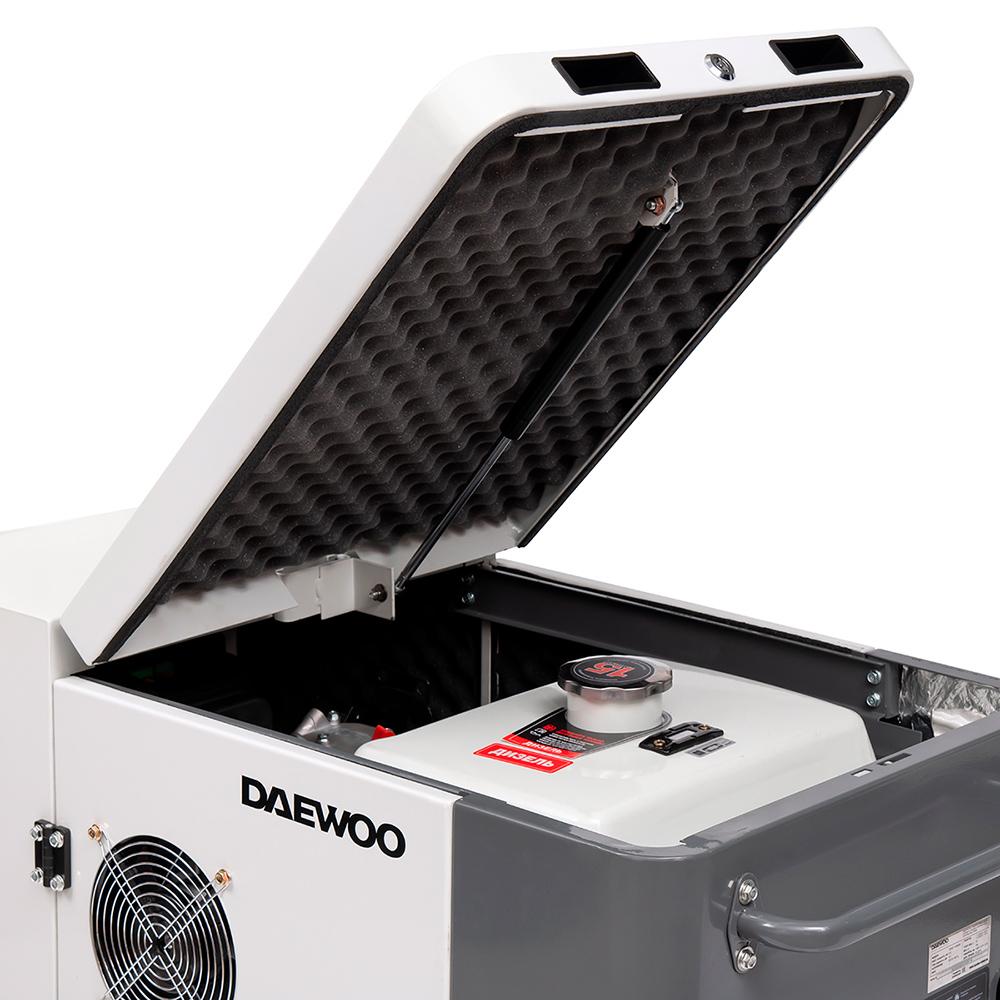 Дизельний електрогенератор Daewoo DDAE 11000SE
