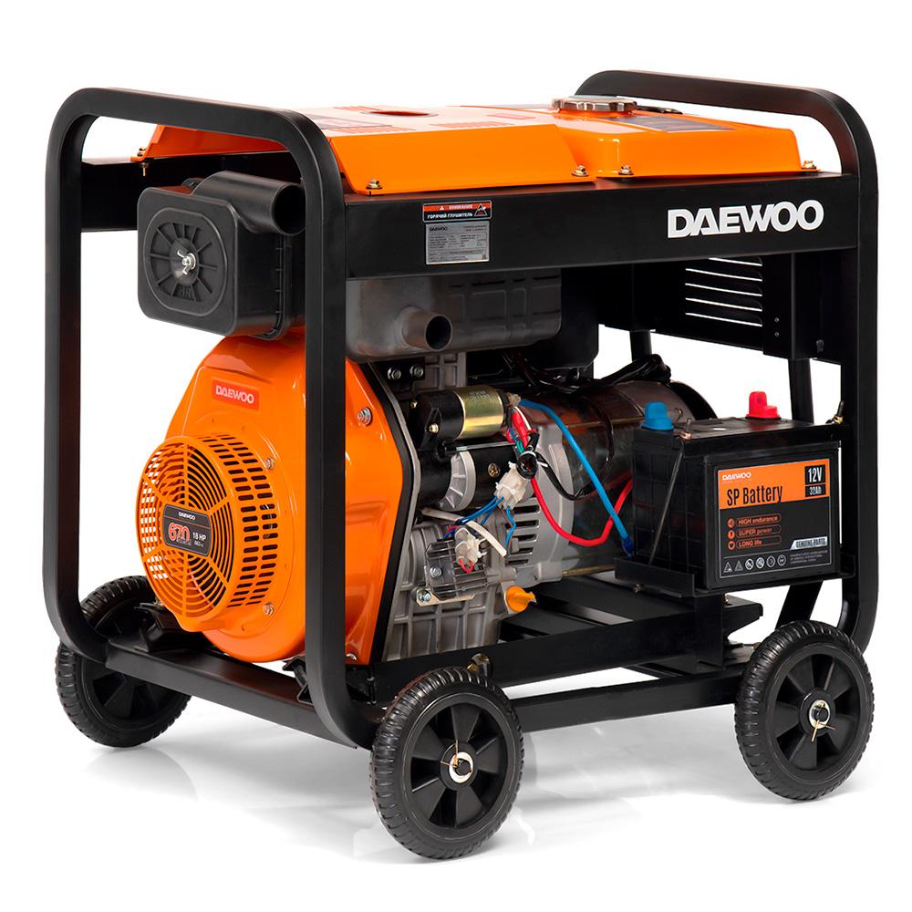 Дизельний електрогенератор Daewoo DDAE 11000XE