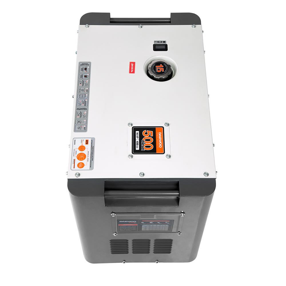 Дизельний електрогенератор Daewoo DDAE 8000SE