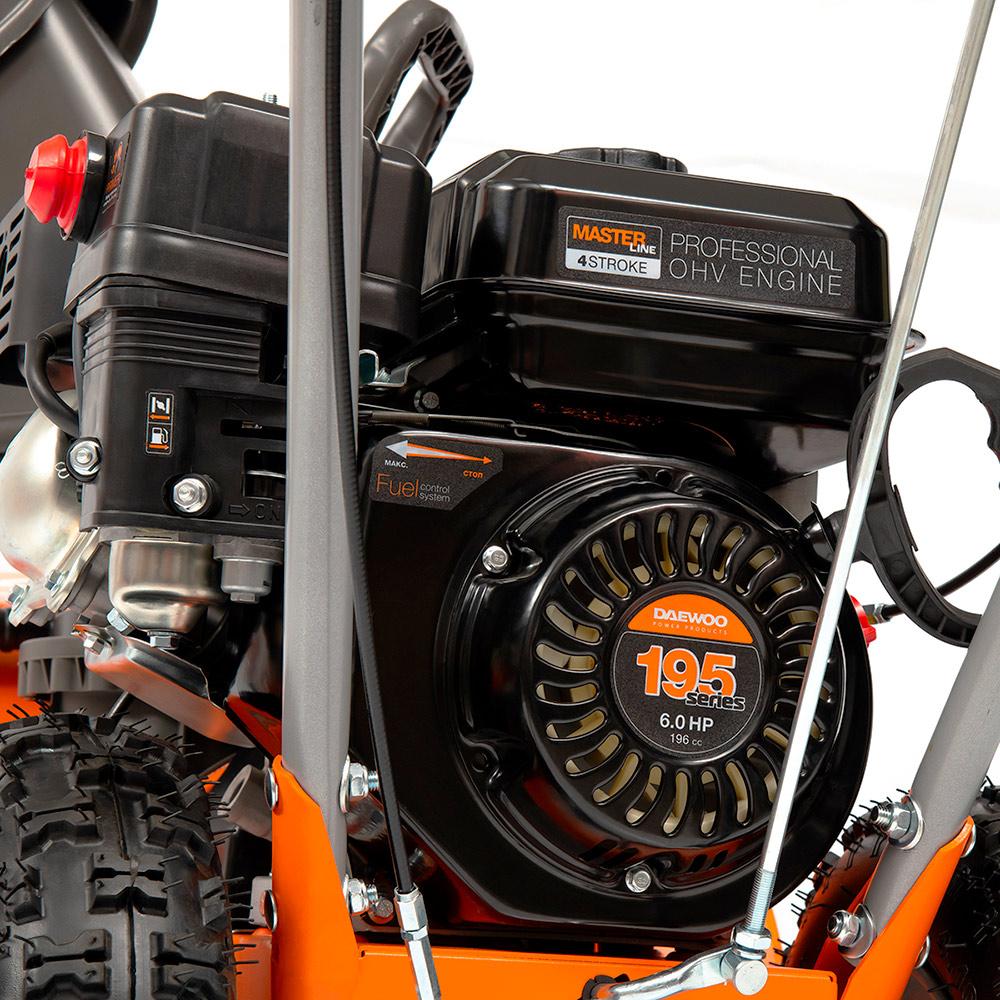 Бензиновий снігоприбирач Daewoo DAST 6060