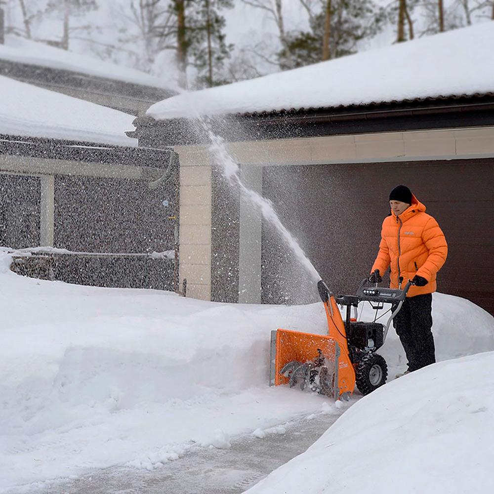 Бензиновий снігоприбирач Daewoo DAST 7565