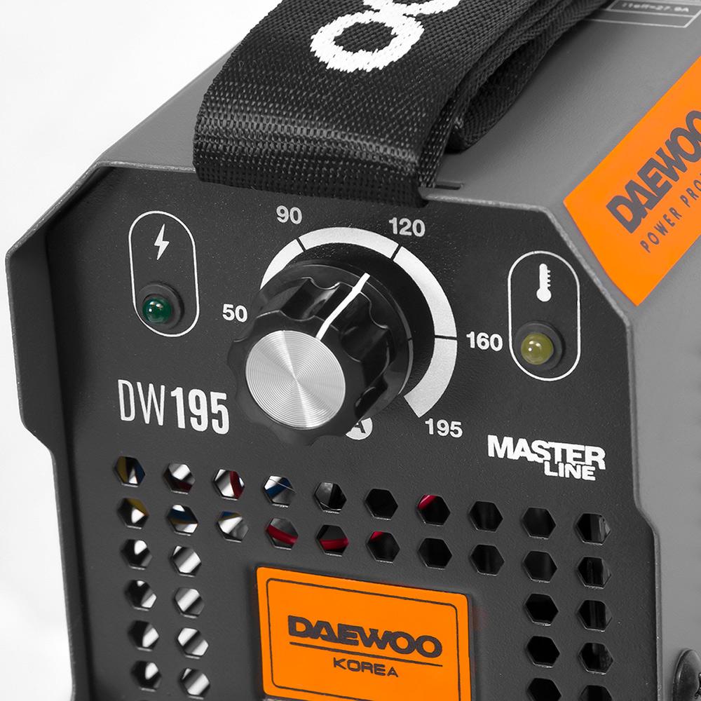 Зварювальний інверторний апарат Daewoo DW 195