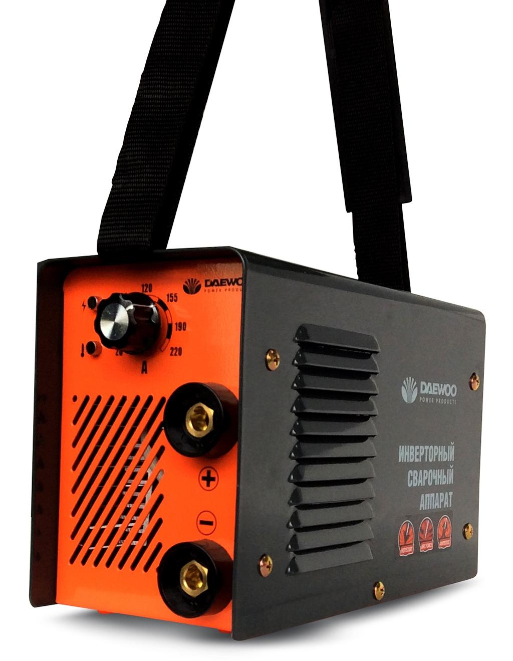 Зварювальний інверторний апарат Daewoo MINI DW-190 MMA